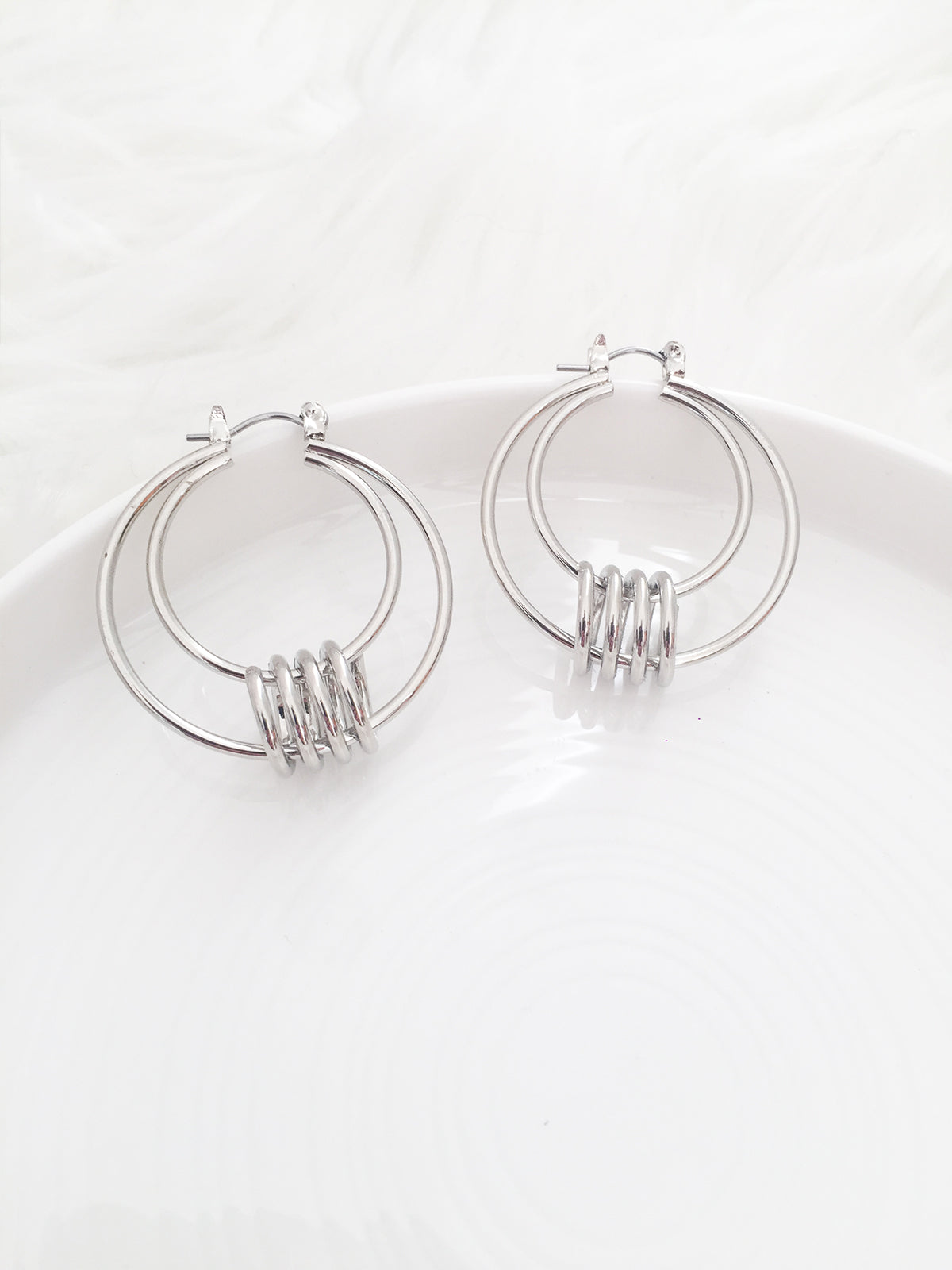 ENDLESS LOVE EARRINGS SILVER