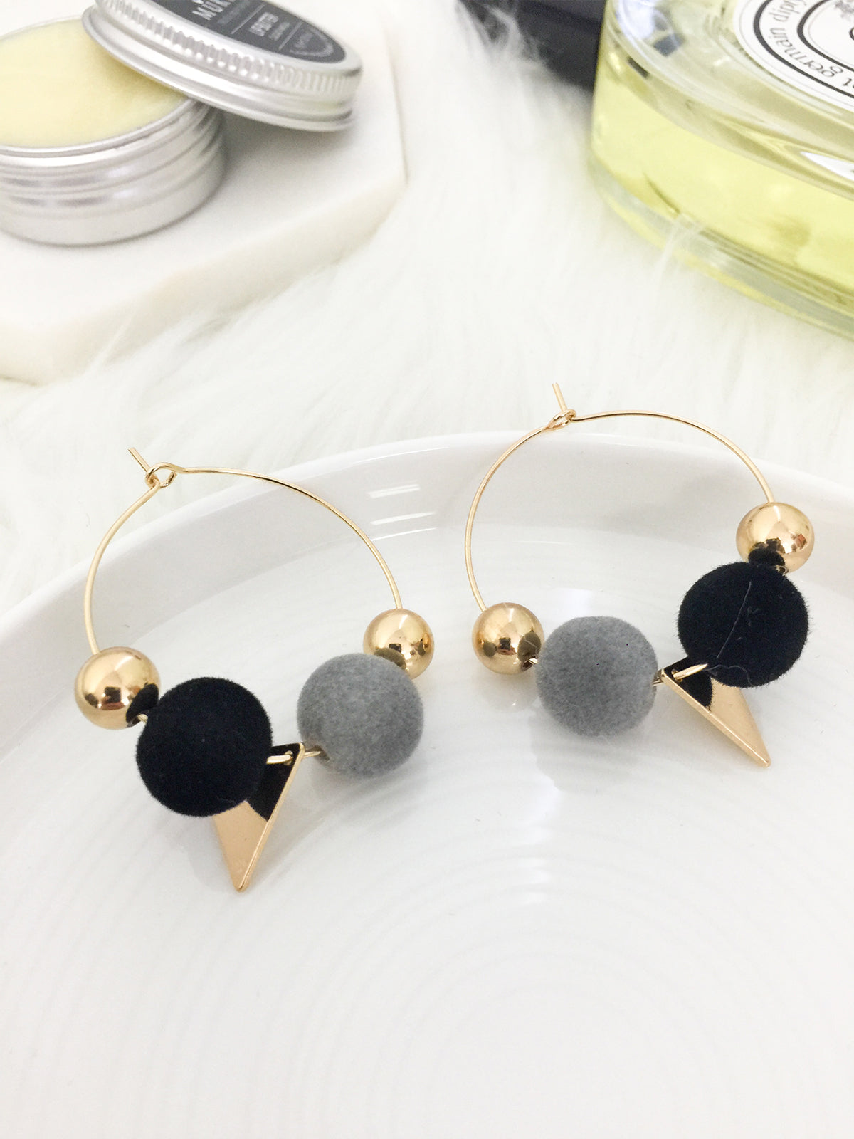 LOVE MY WAY STATEMENT EARRINGS