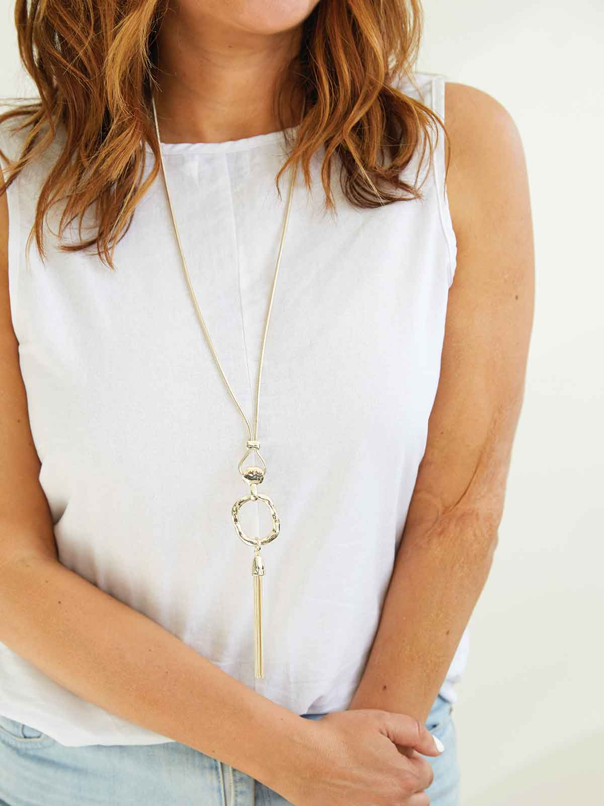 FEEL THE LIGHT SILVER NECKLACE