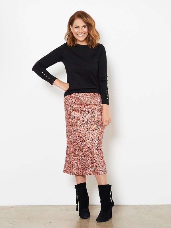 LIGHT THE WAY PRINTED SKIRT