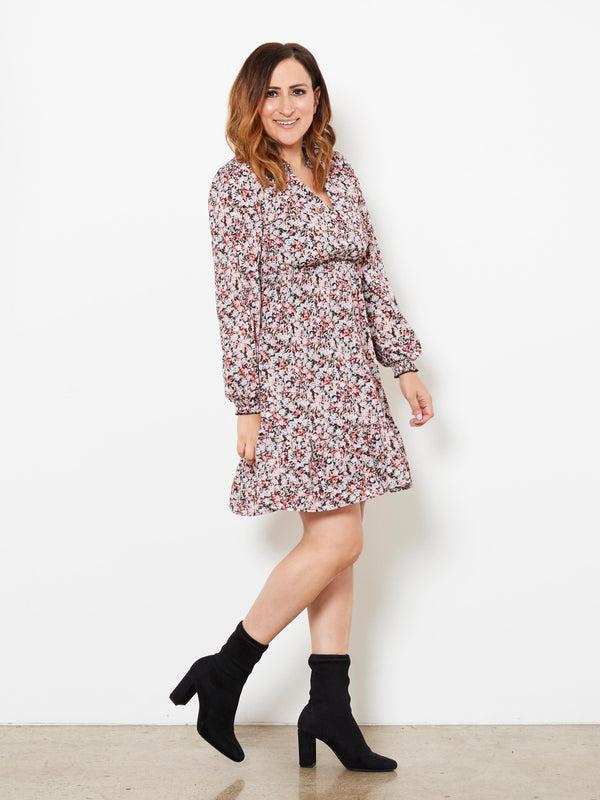 LOVED BY YOU FLORAL DRESS