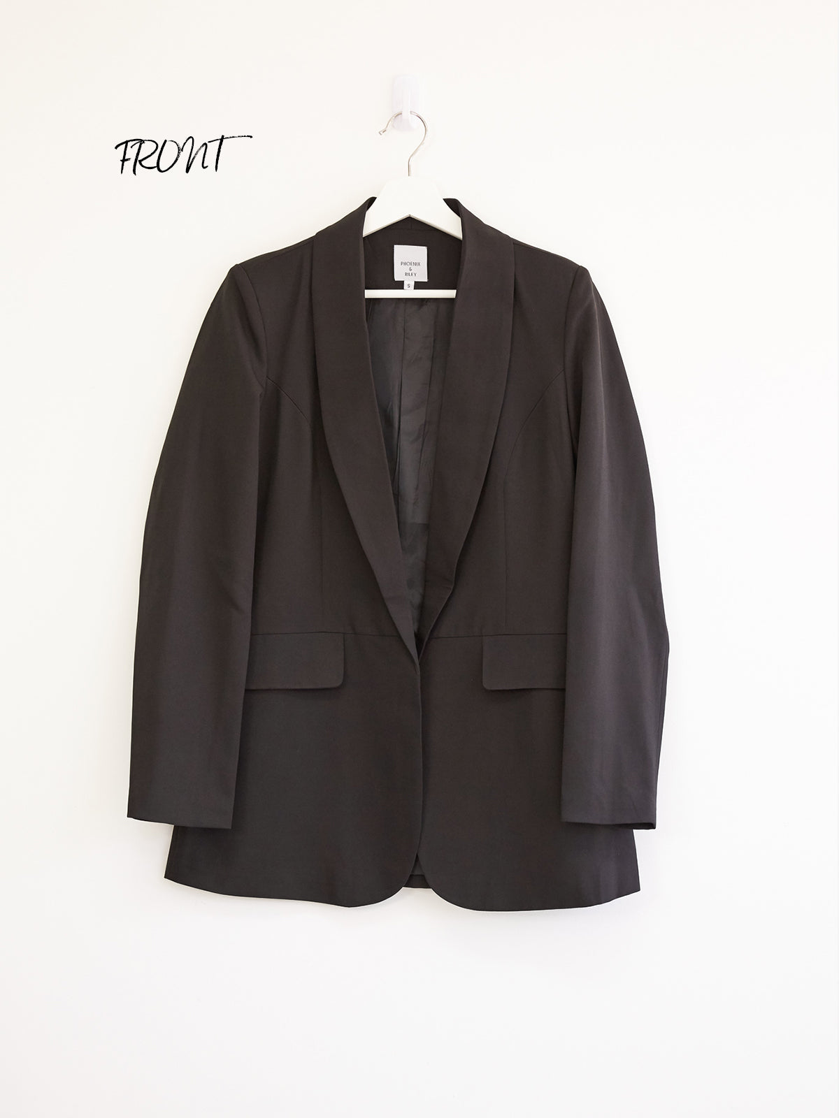 MEET ME IN MIDTOWN BLACK BLAZER