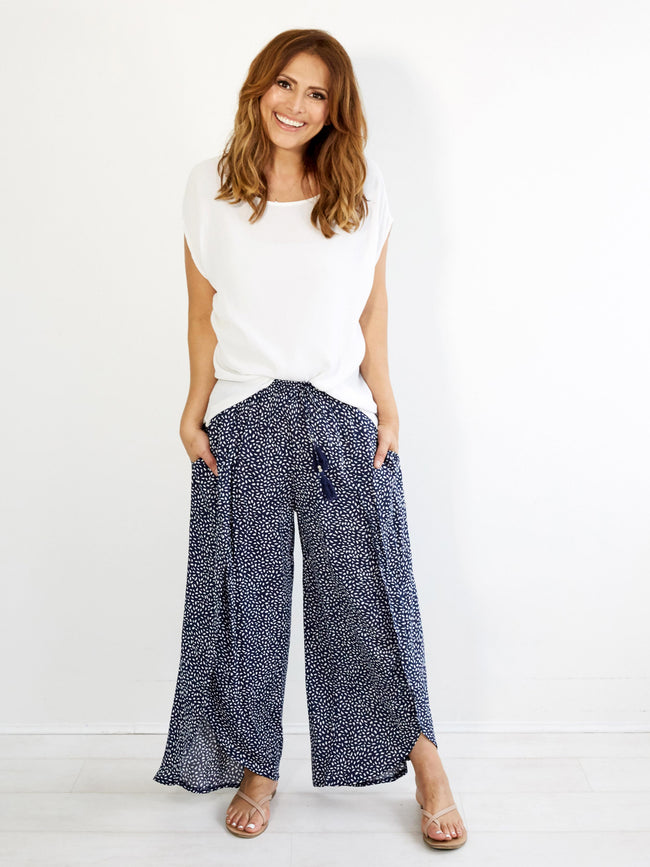 MAGIC TIDES NAVY PANT