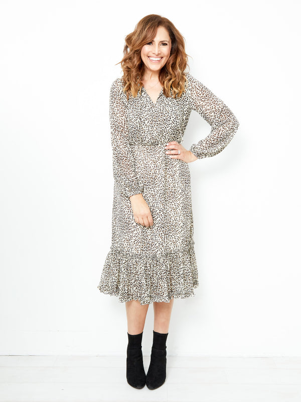 MIDTOWN MOMENTS LEOPARD DRESS