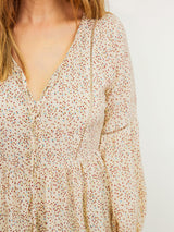 MODERN LOVE FLORAL BLOUSE