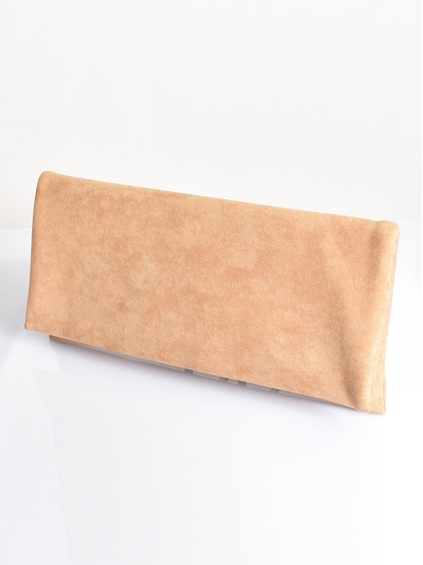 MY KIND OF LOVE PEACH CLUTCH
