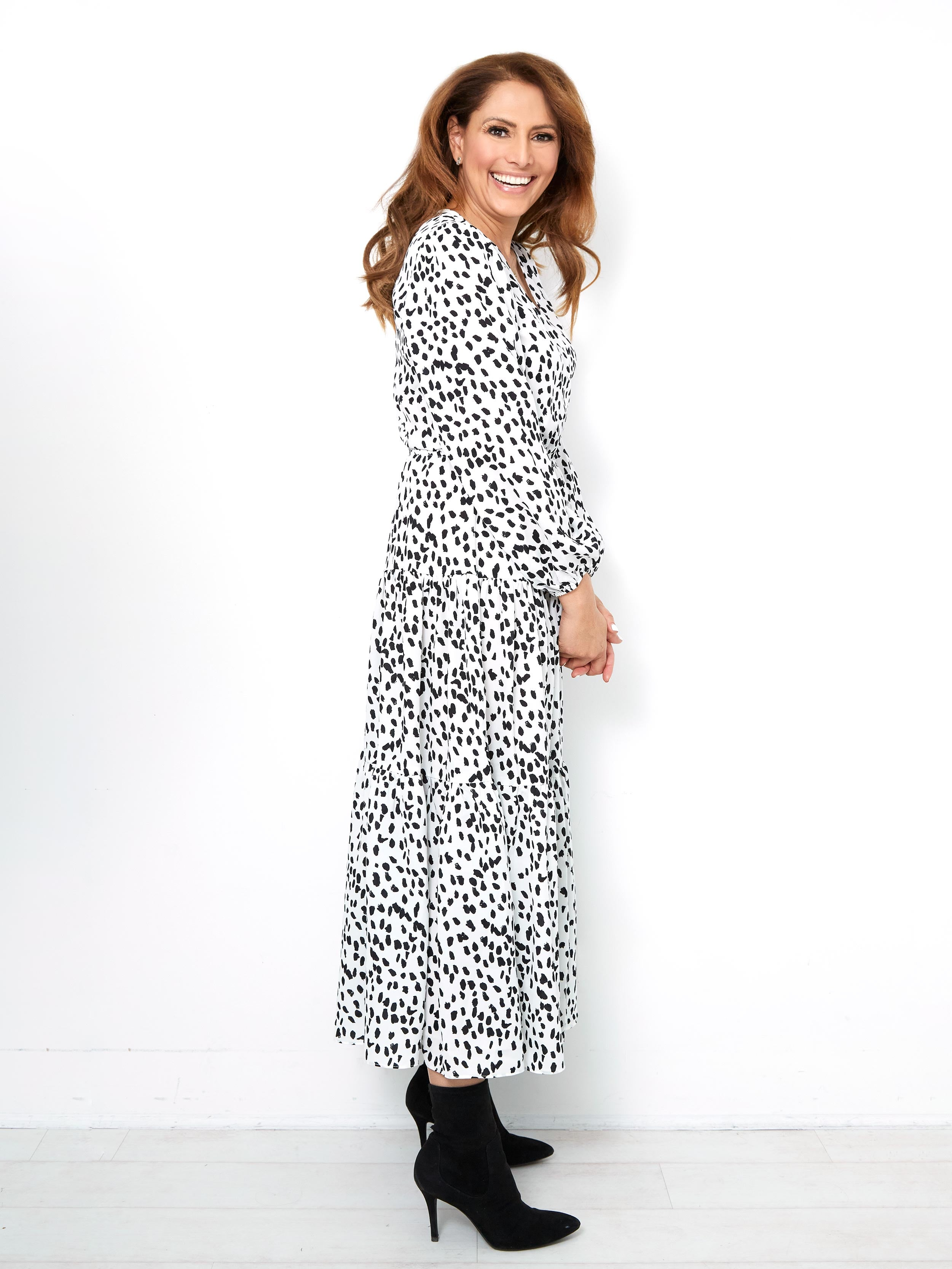 OF THE MOMENT MAXI DRESS