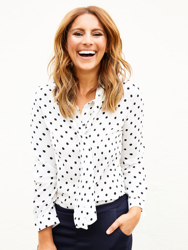 ON THE DOT SPOTTY SHIRT