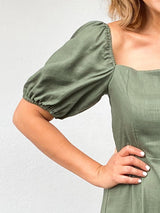 ONE FINE DAY KHAKI DRESS