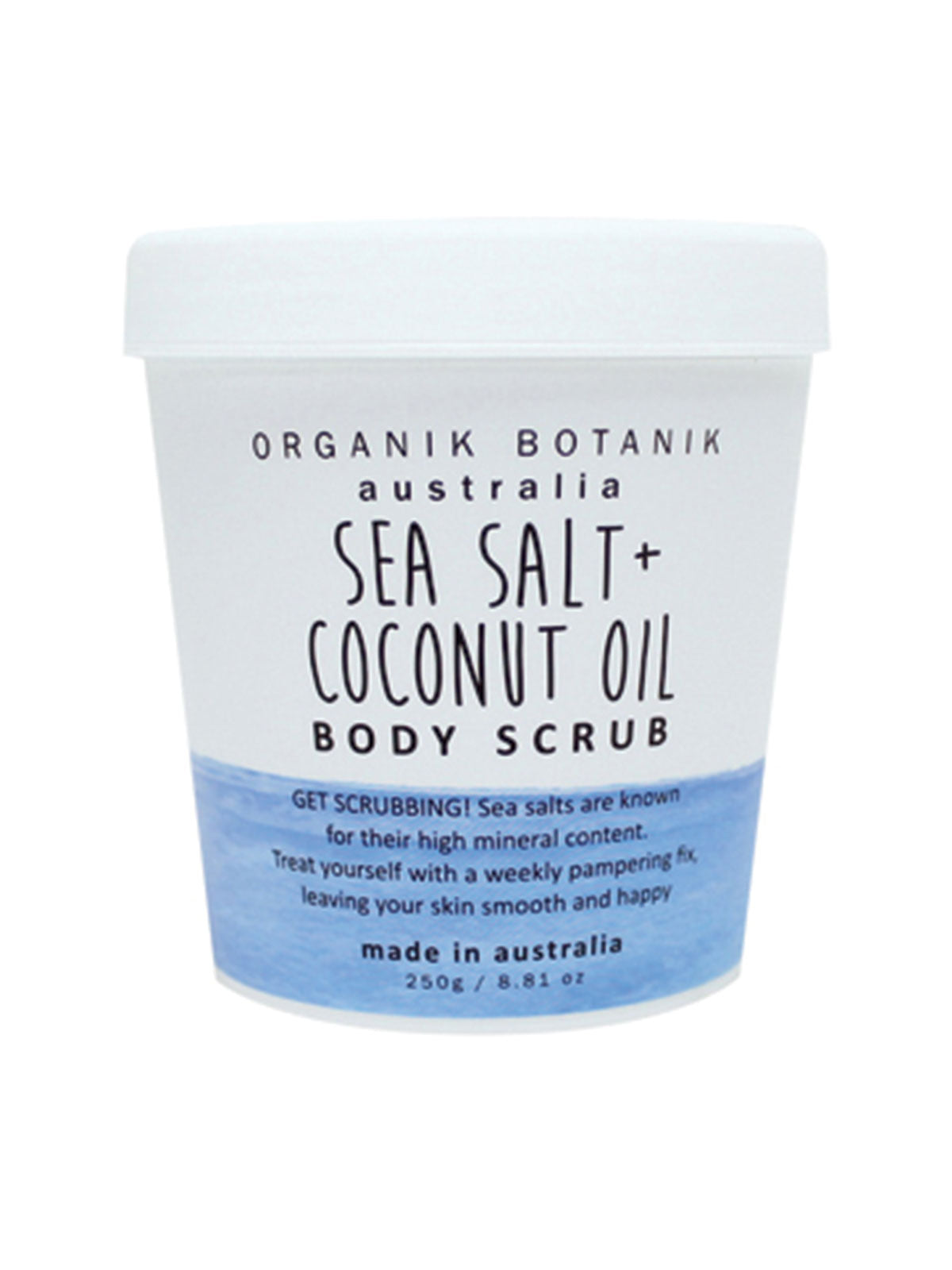 SEA SALT & COCONUT OIL BODY SCRUB