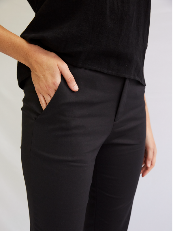 PERFECT FOR YOU BLACK PANT