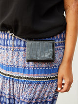 A POCKET OF LOVE BELT BAG - BLACK