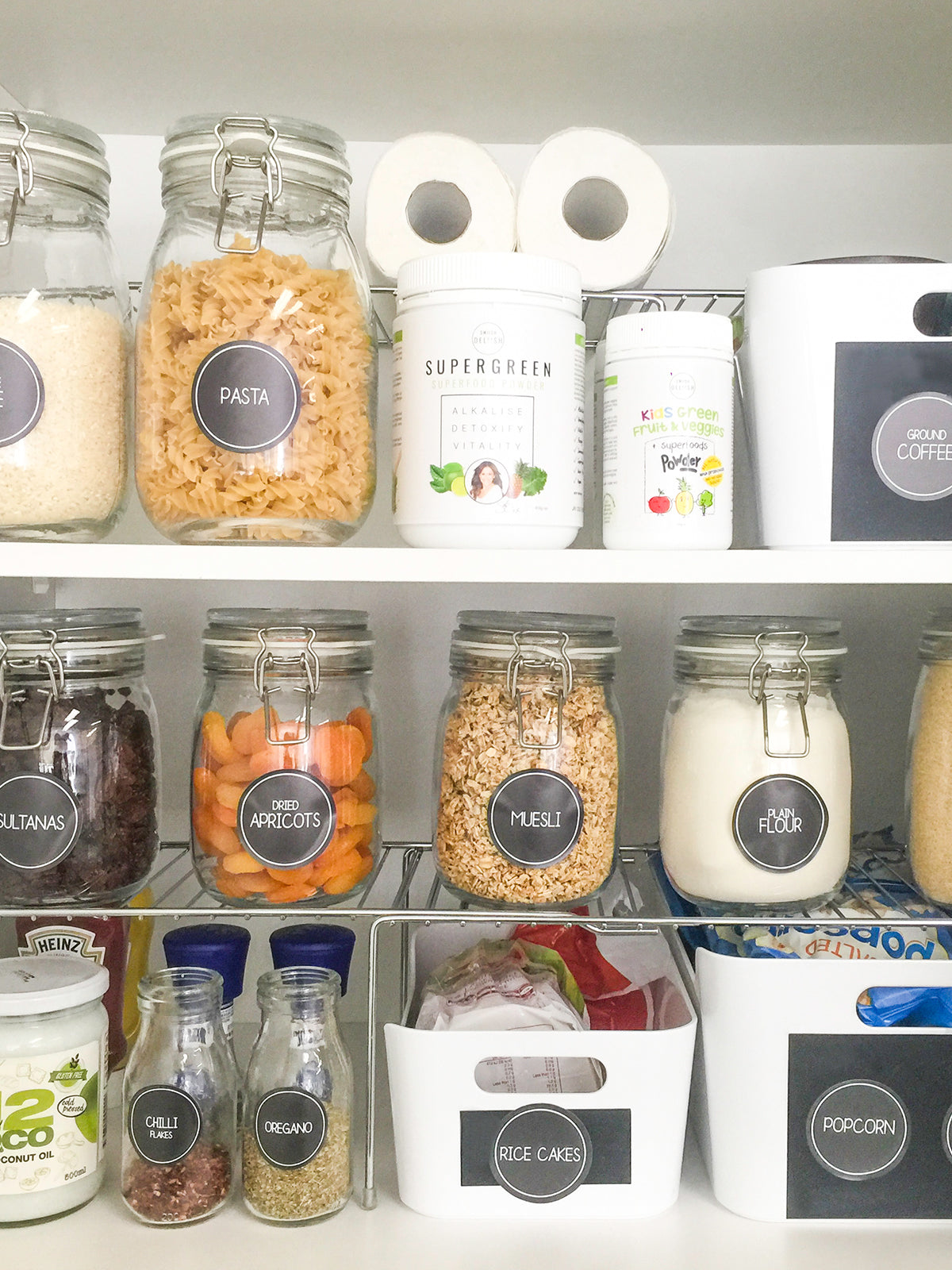 PANTRY LABELS-ESSENTIALS