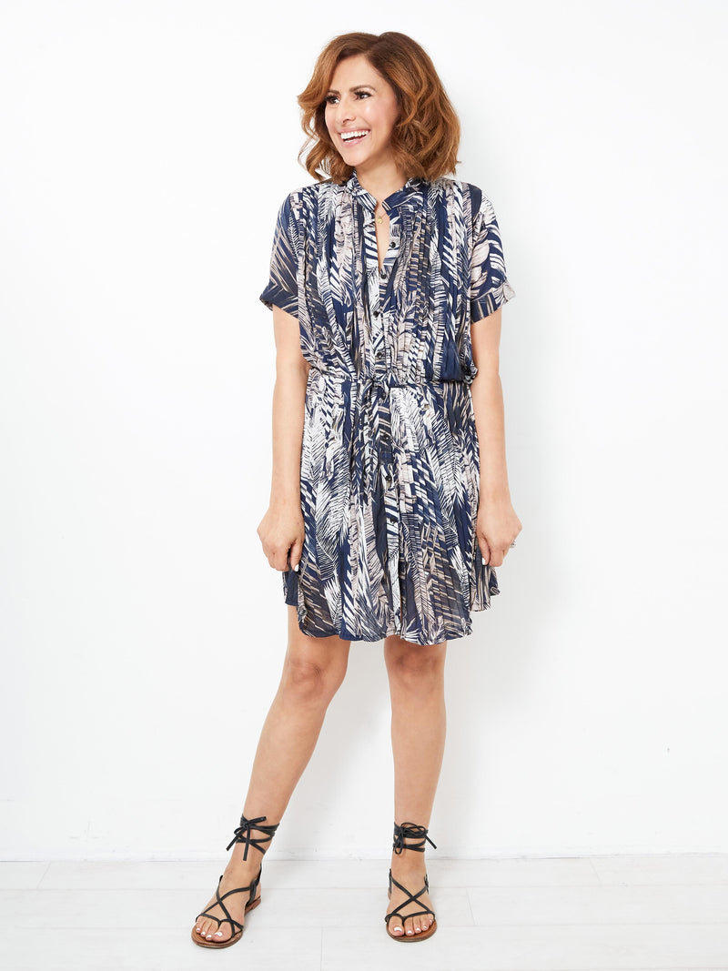 PARADISE LOVE PRINTED DRESS