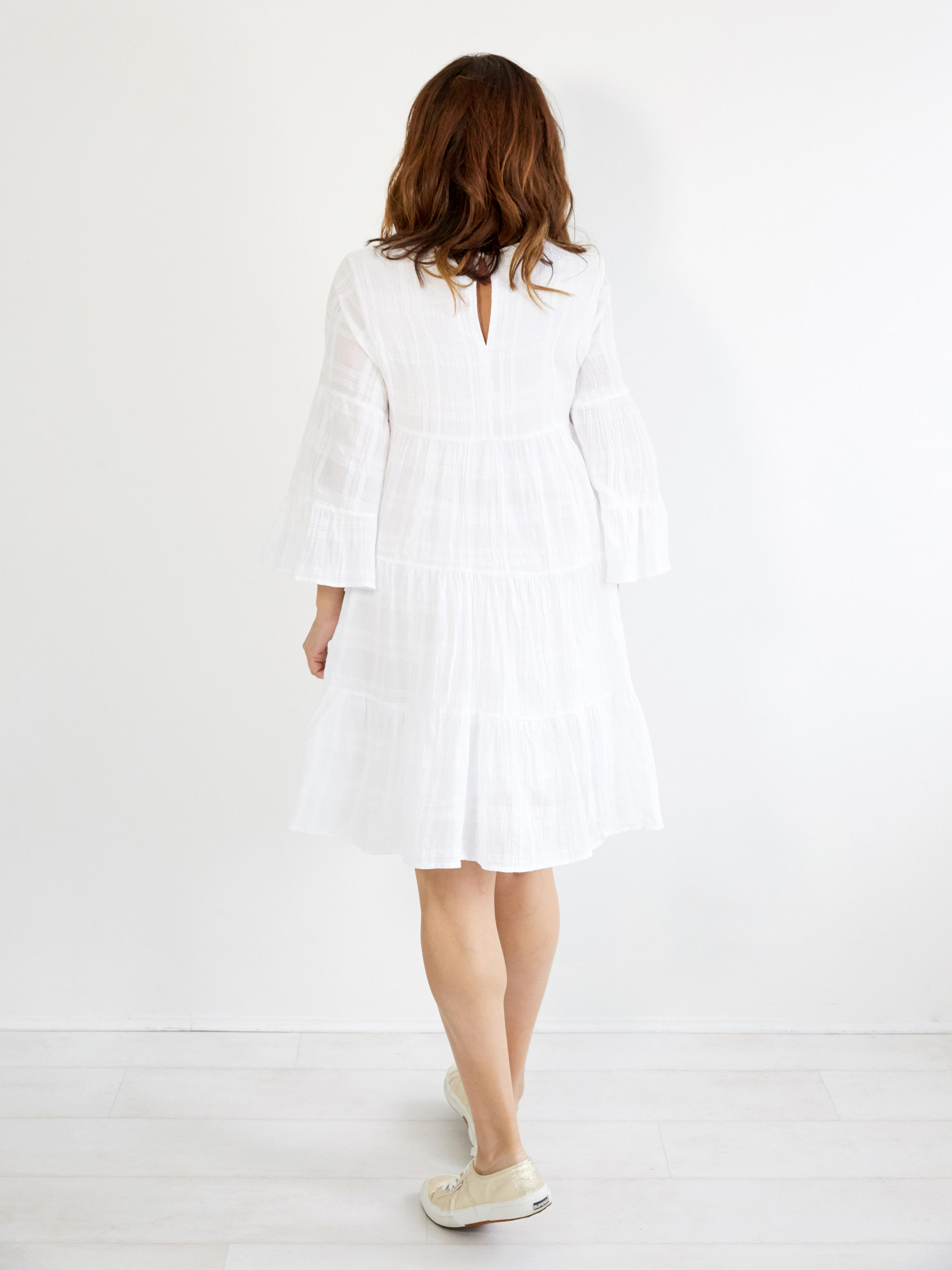 PARISIAN LOVE WHITE DRESS