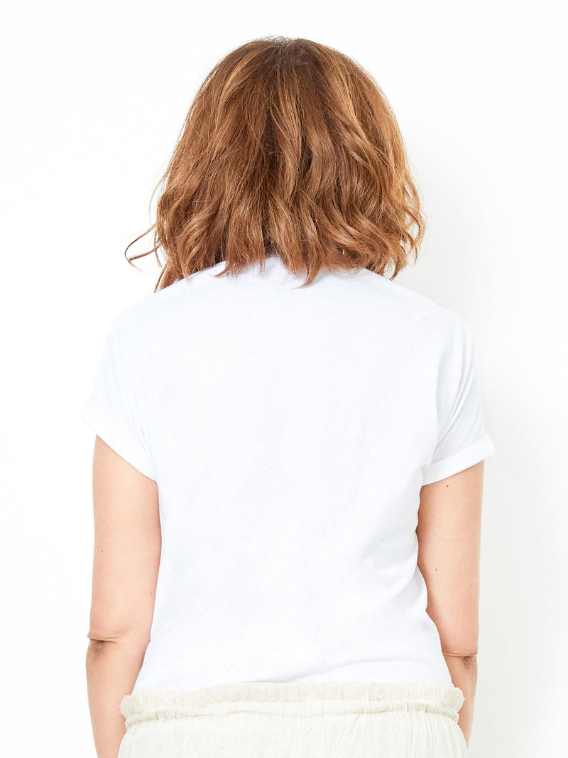 PRACTICALLY PERFECT WHITE TEE