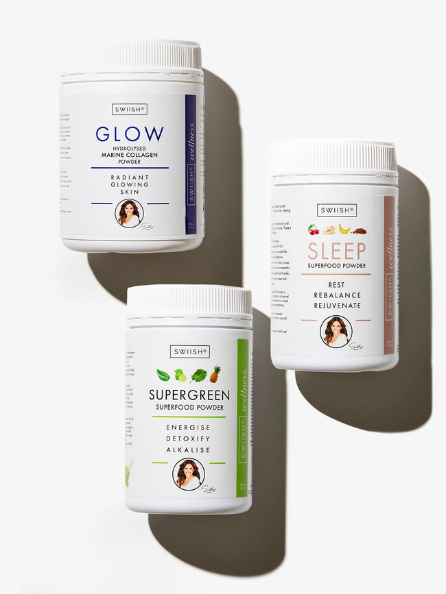 THE ULTIMATE WELLNESS TRIO