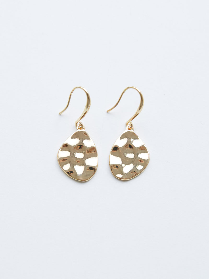 SWEET IMPACT GOLD EARRING