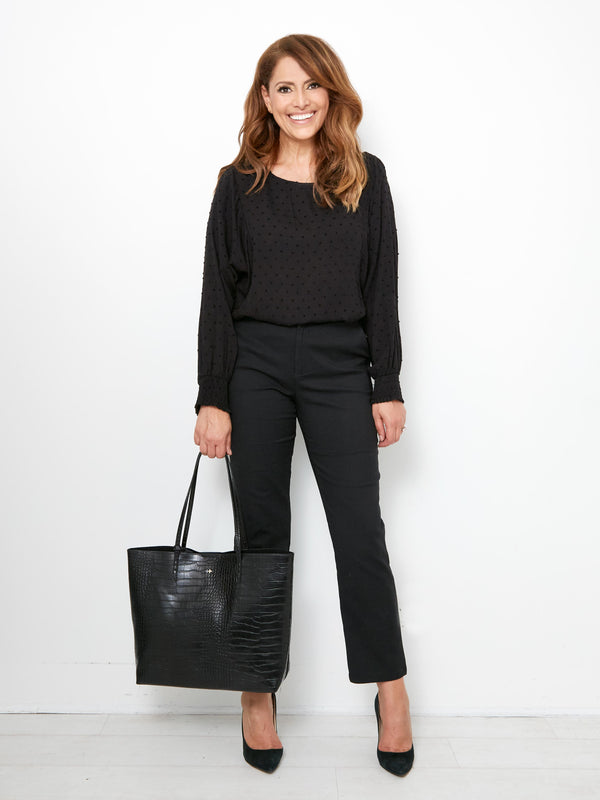 SAINT TOTE IN BLACK