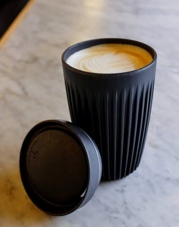 ON THE GO ECO COFFEE CUP - CHARCOAL