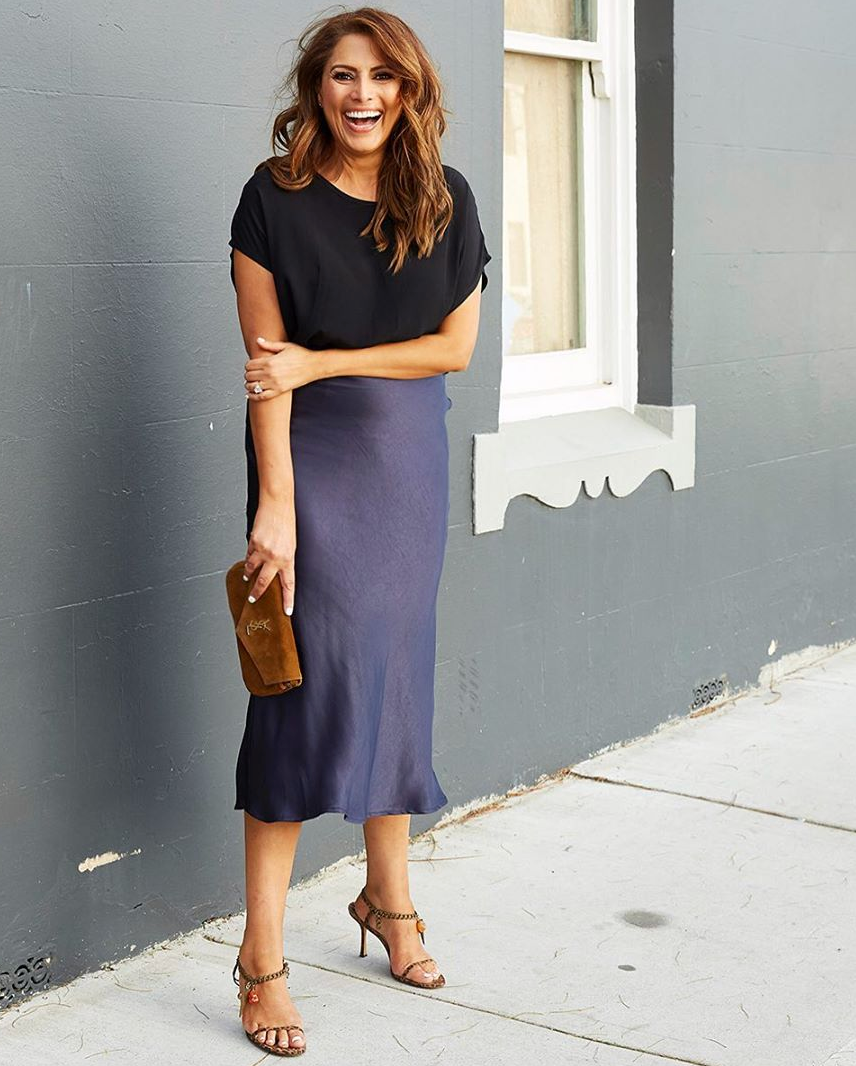 A PARISIAN DREAM MIDI SKIRT