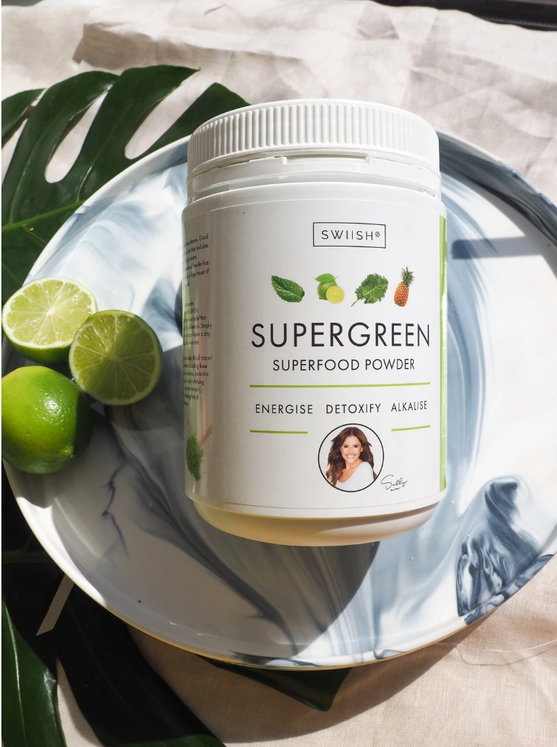 BUY 450G SUPERGREENS + GET SUPER EASY FREE