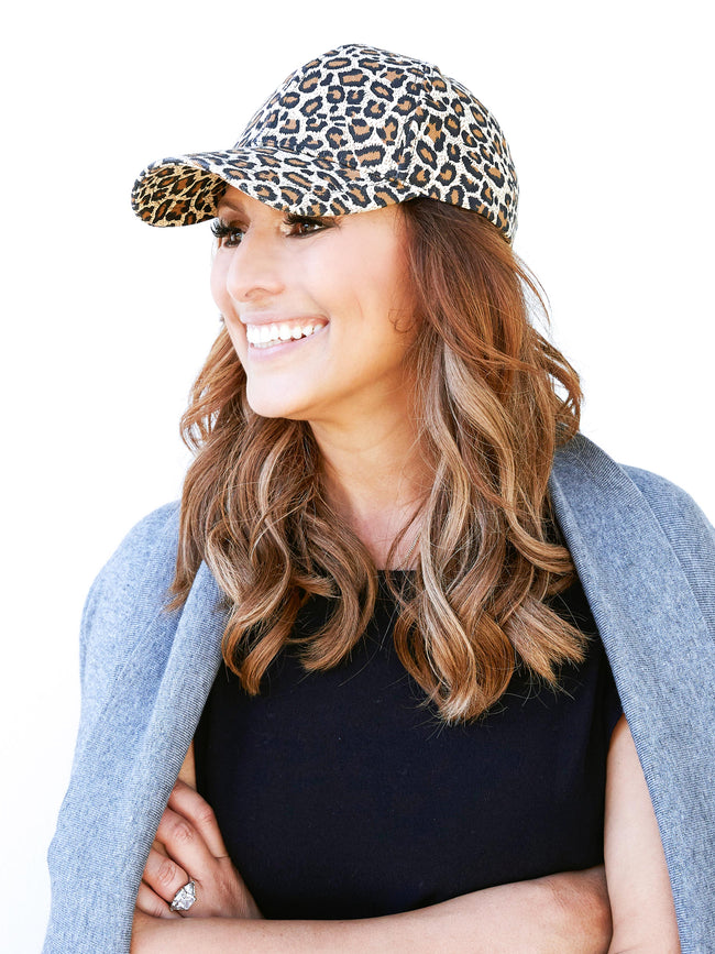 SHADES OF YOU LEOPARD CAP