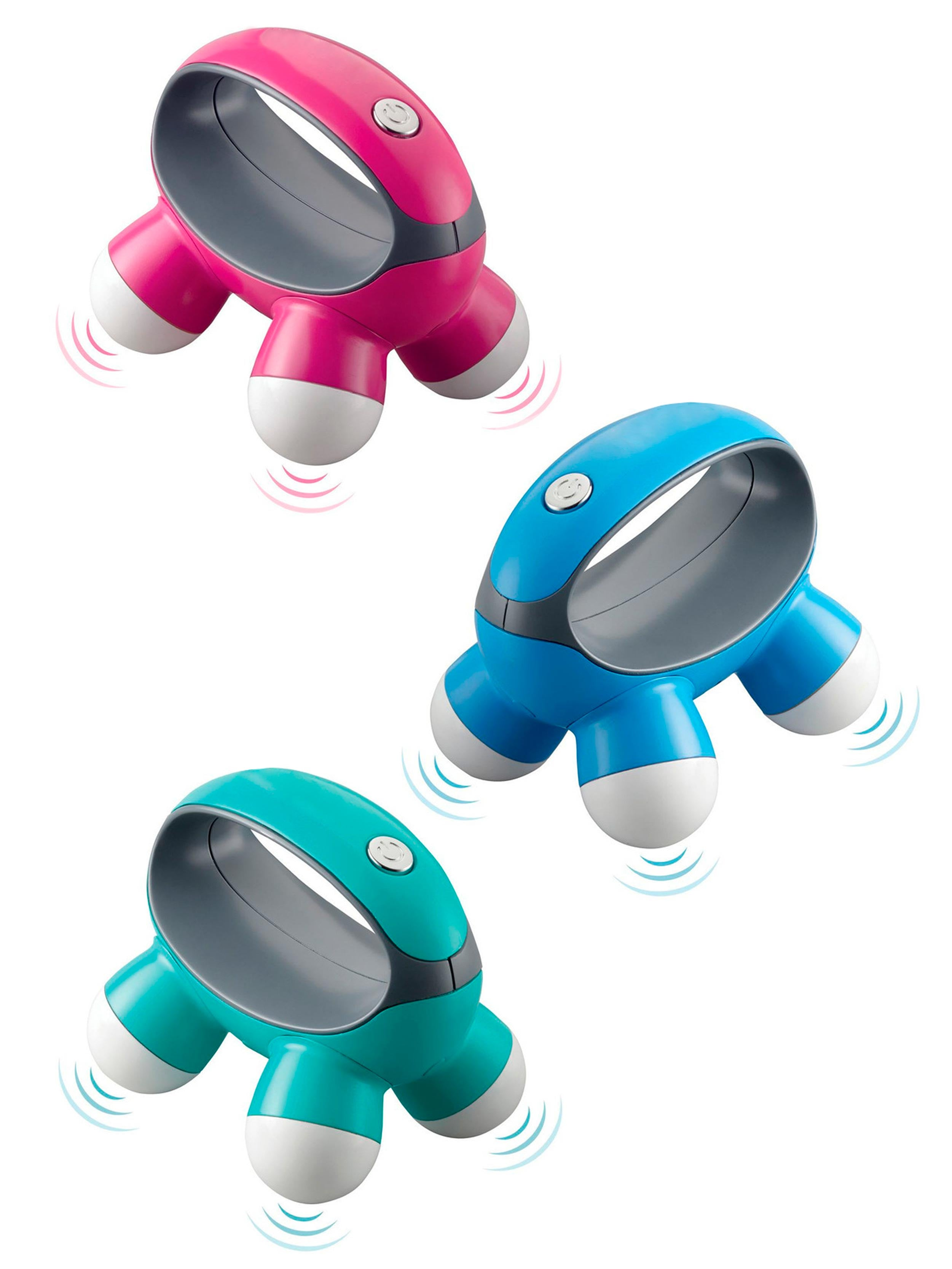 STRESS BUSTER HANDHELD MINI MASSAGER