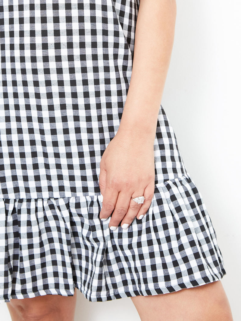 SUMMERTIME FUN GINGHAM DRESS