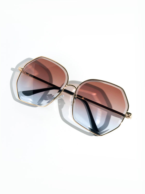 SUNSET ROSE SUNGLASSES