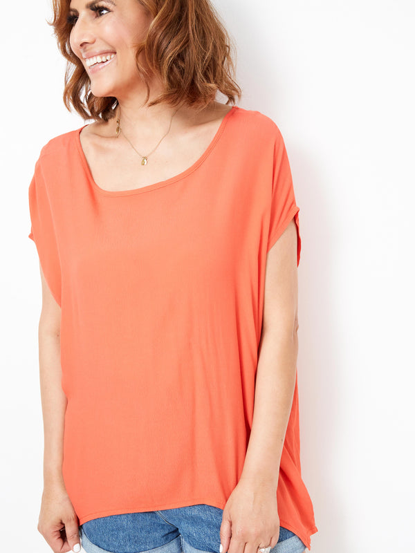 SWEET SOHO CORAL TOP