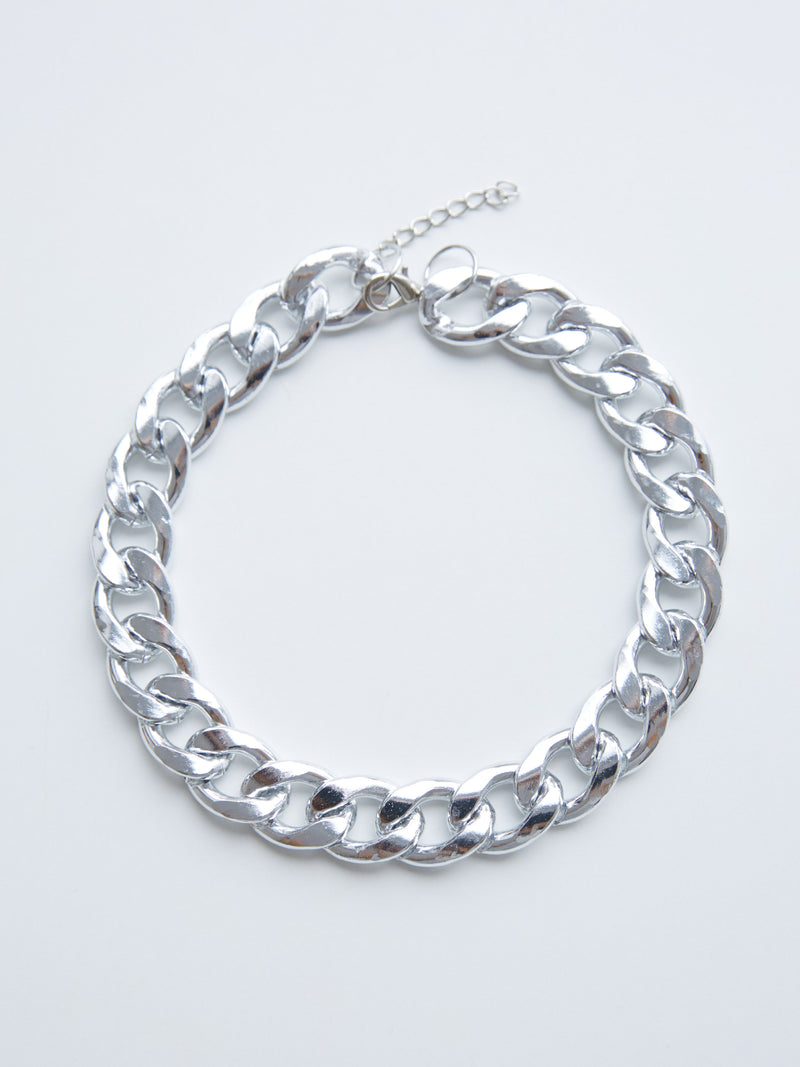 TAKE THE LEAD SILVER NECKLACE