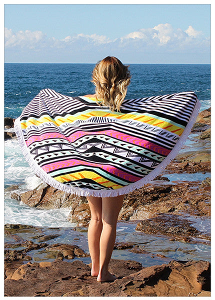 XUELLER ROUND BEACH TOWELS