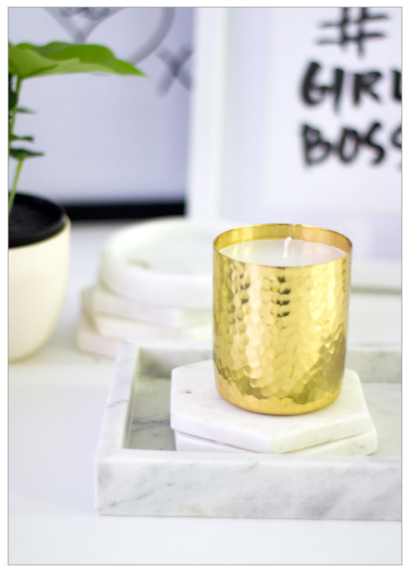 TRIBECA LUXE METALLIC CANDLES
