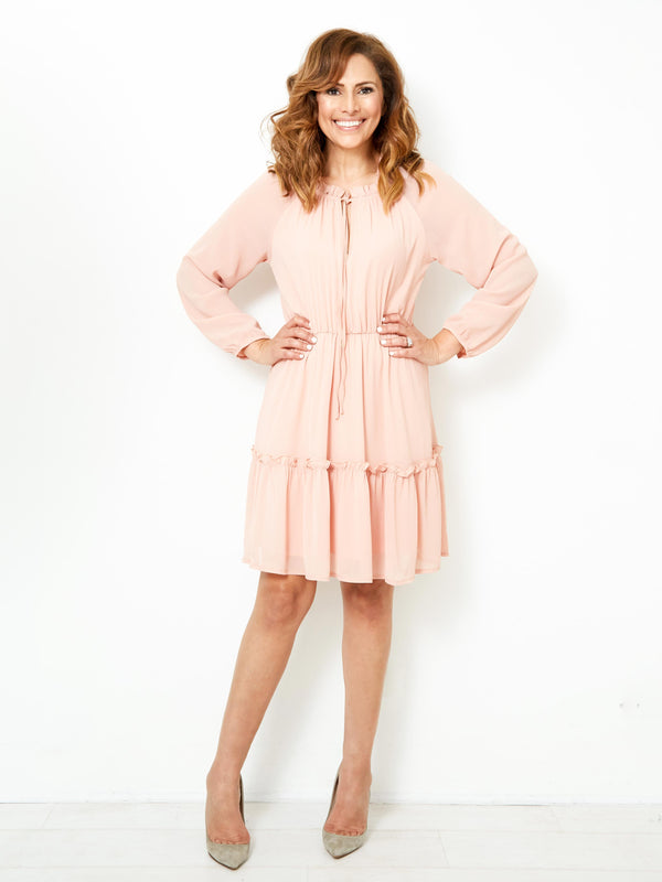 THE DREAM LIGHT PINK DRESS