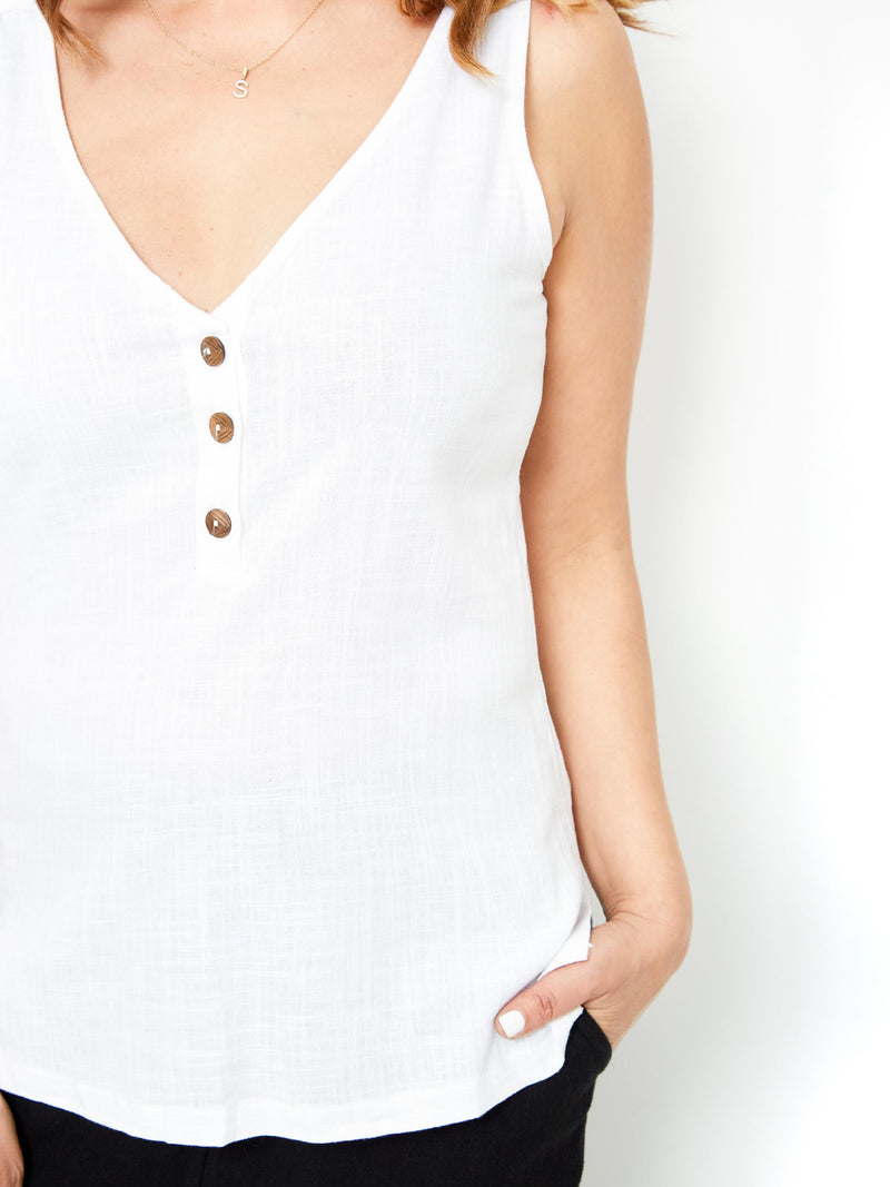 NEW FREEDOM WHITE CAMI