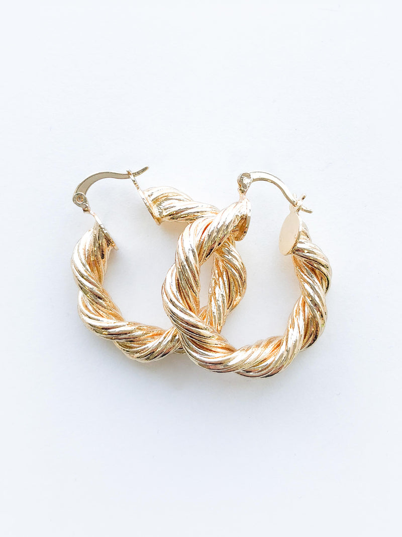 TWISTED BEAUTY EARRINGS