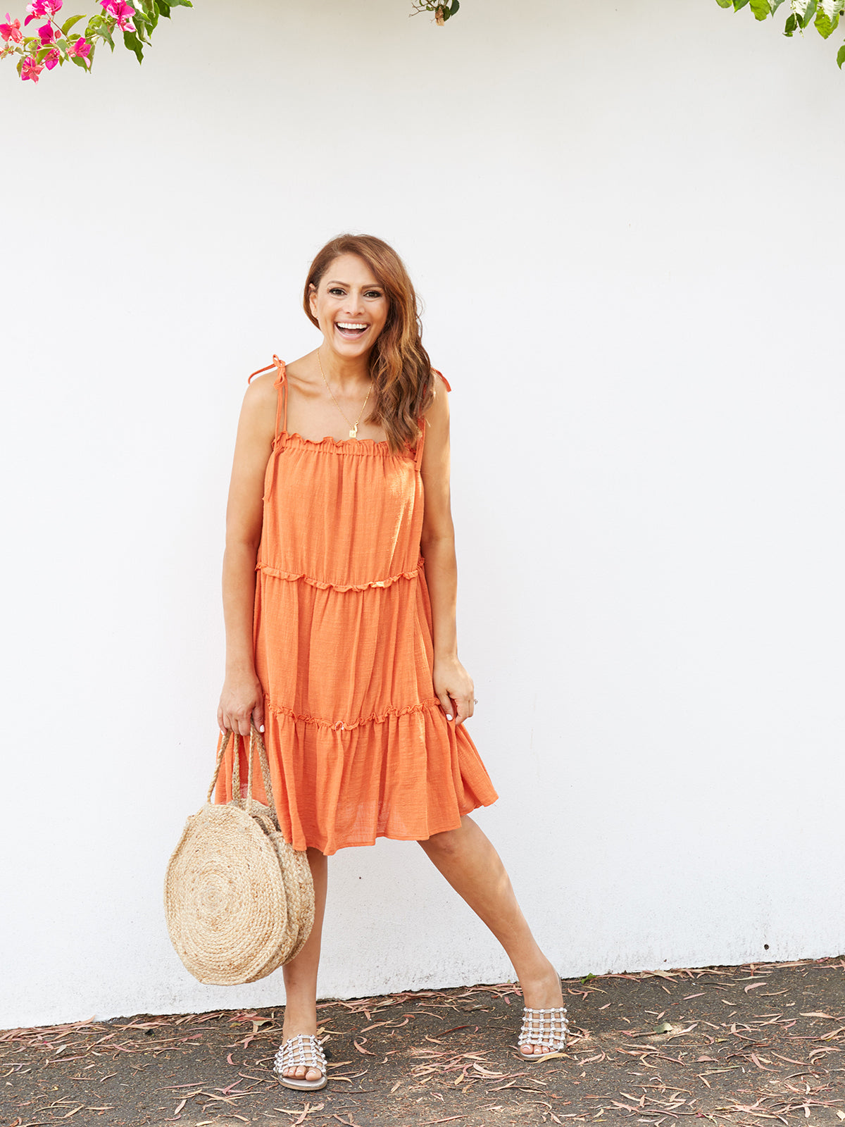 WHIMSICAL LOVE BOHO DRESS