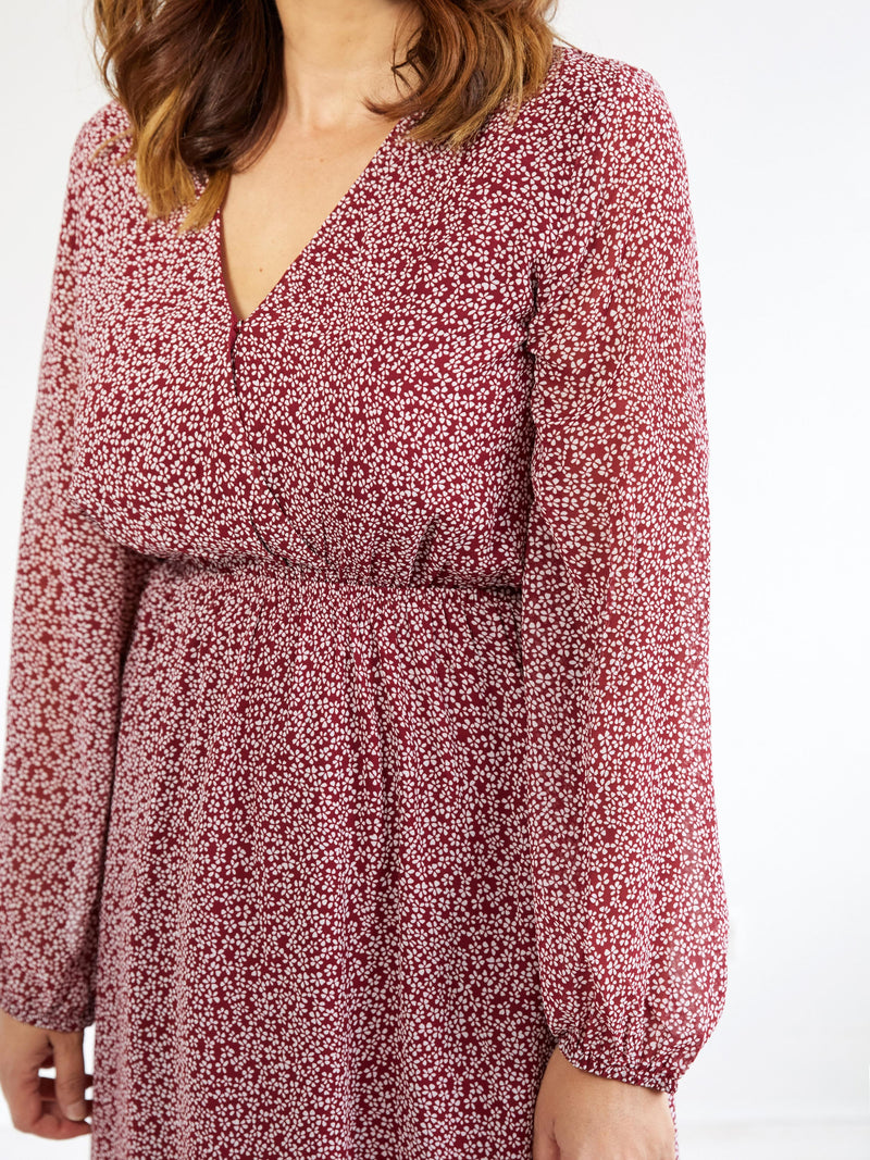 WHERE THE HEART IS FLORAL DRESS