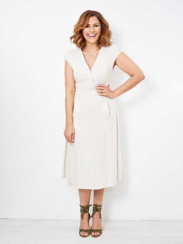 YOUR PERFECT DAY CREAM DRESS