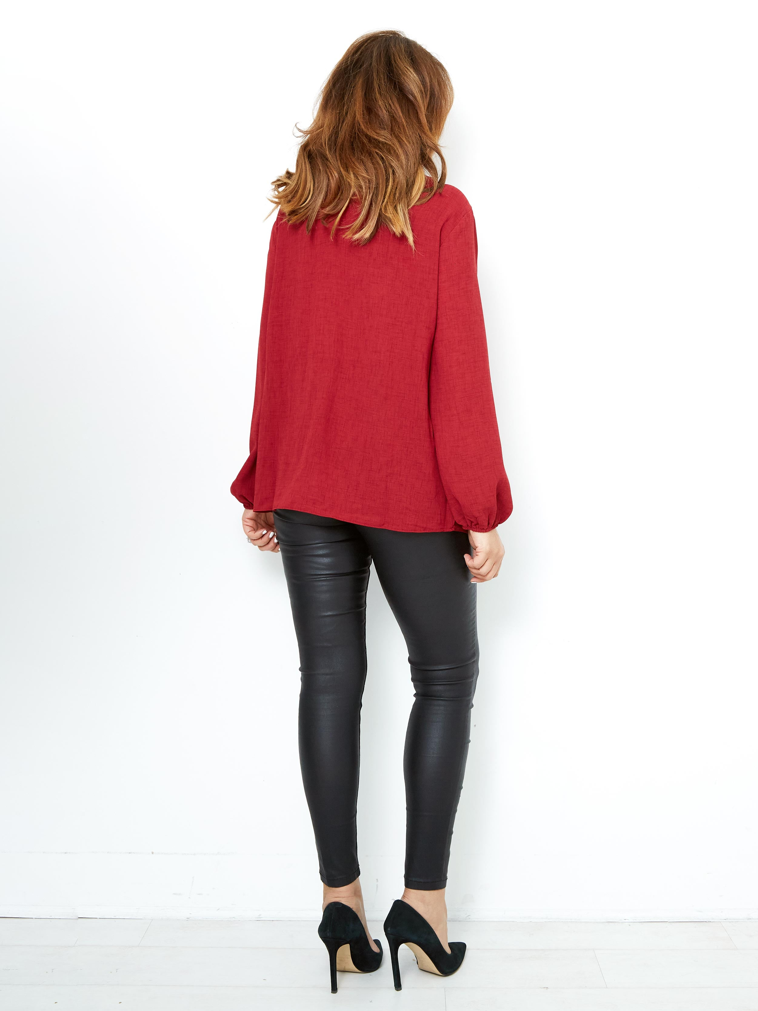 YOUR PERFECT FORTUNE RED TOP