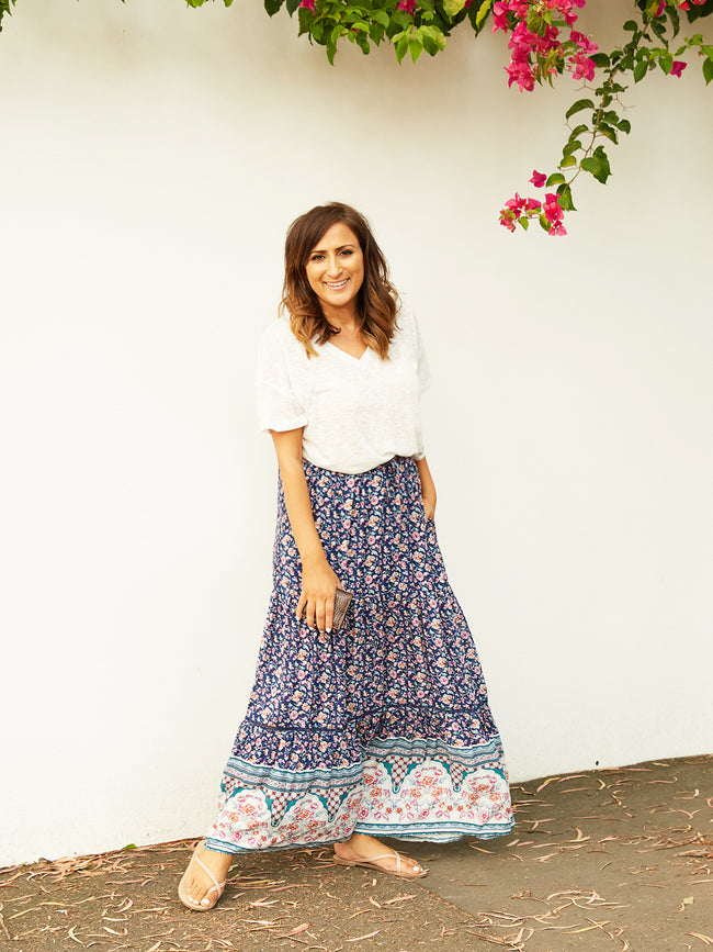 A JOYOUS LOVE MAXI SKIRT