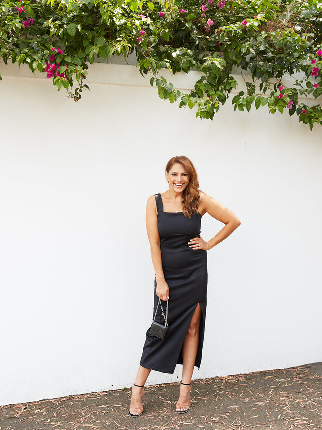 ALL KINDS OF BLISS BLACK DRESS