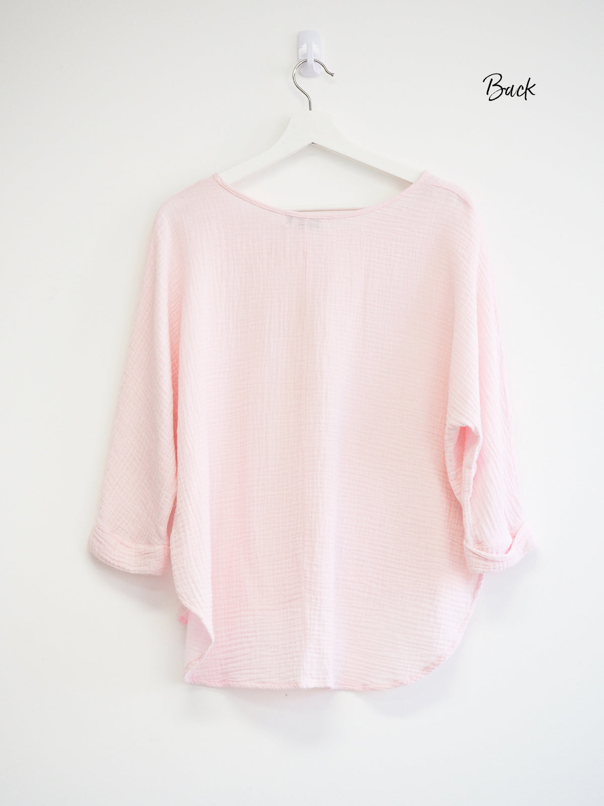 SOMETHING ABOUT YOU PINK TOP