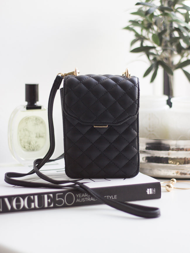 THE ALL NIGHTER BLACK COIN BAG