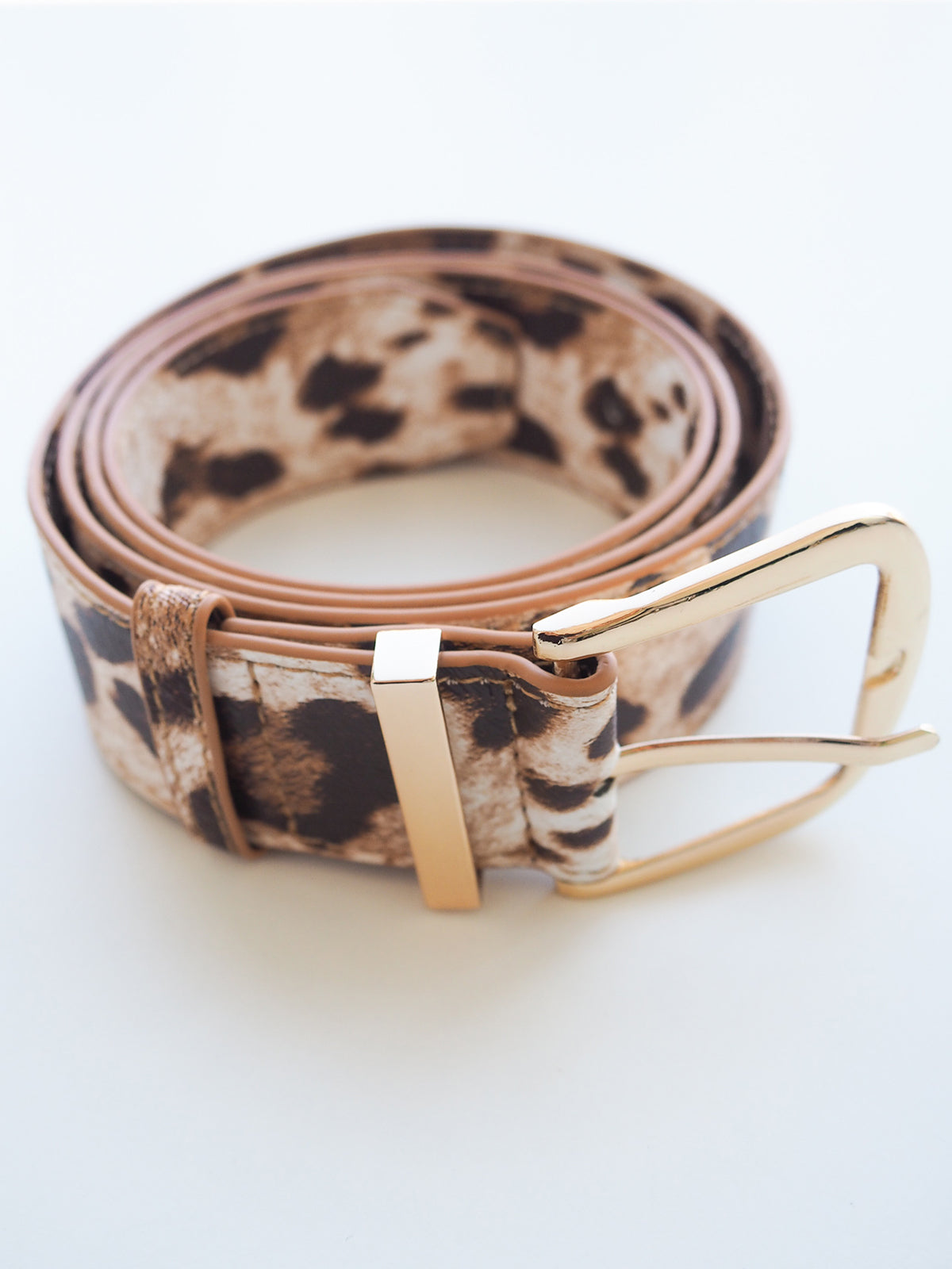 WILD SPIRIT BELT IN LEOPARD