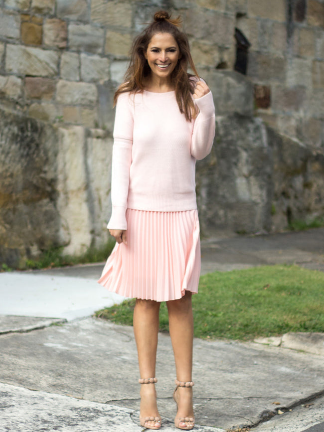 THE REFINERY EVERYDAY KNIT - BLUSH