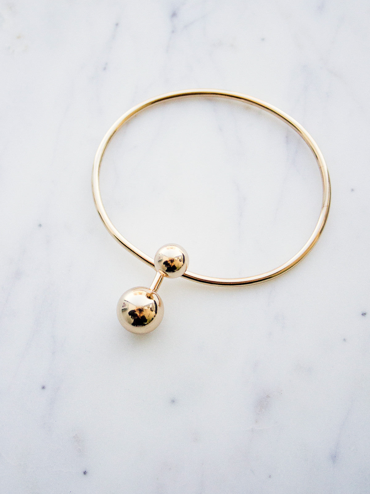 SAY YOU, SAY ME GOLD BRACELET
