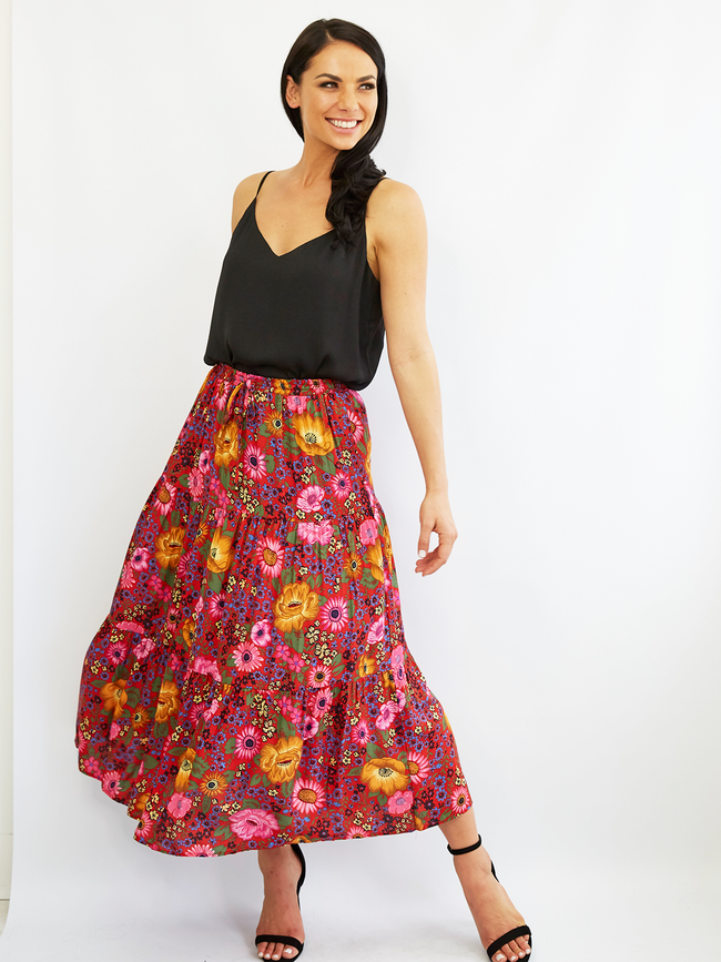 DREAM DRIFTER FLORAL SKIRT