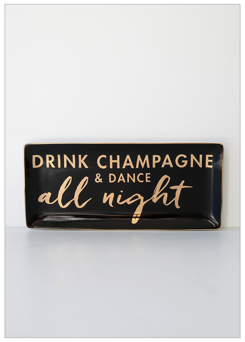 DANCE ALL NIGHT TRINKET TRAY